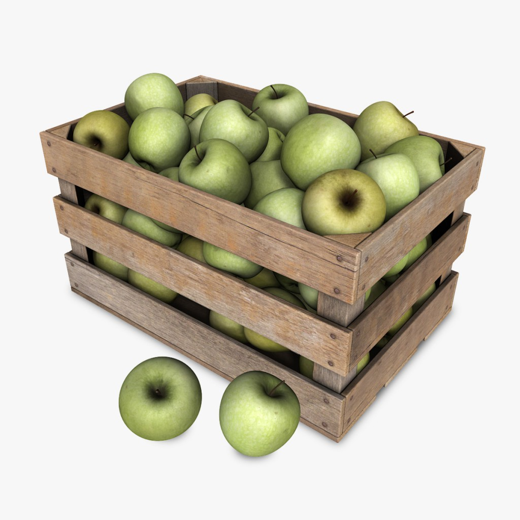 Crate_with_Green_Apples1