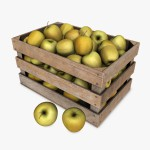 Crate_with_Yellow_Apples1